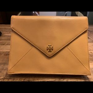 Tory Burch Camel Envelope Clutch